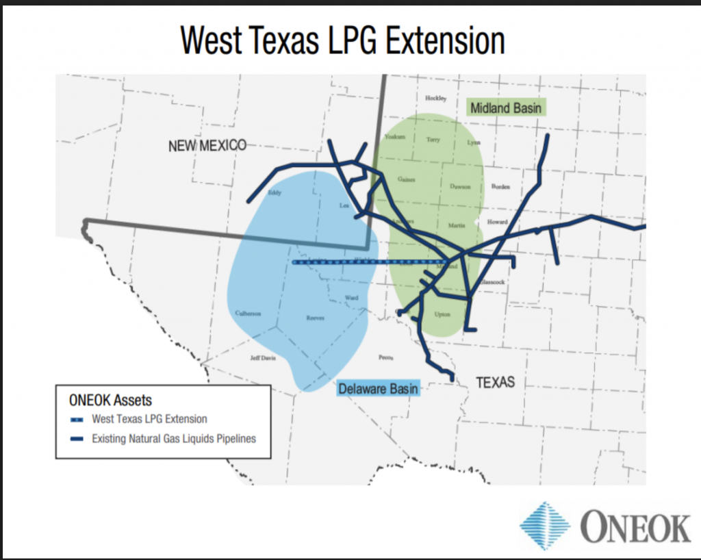 Pipeline Construction Project In The Works - Oneok Pipeline Map Texas