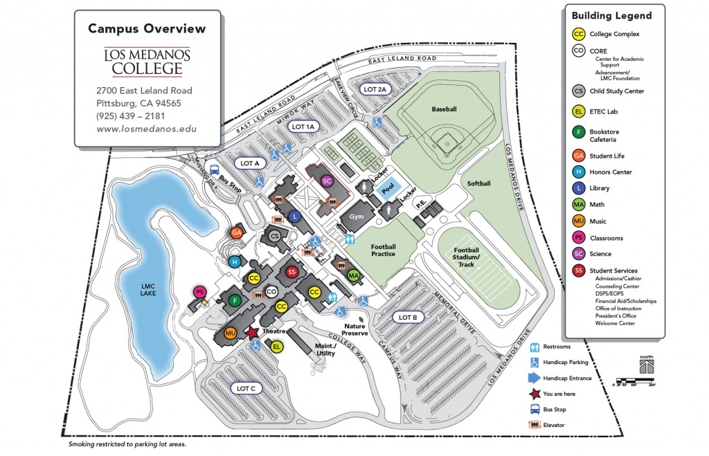 Pittsburg Campus Overview - Pittsburg California Map