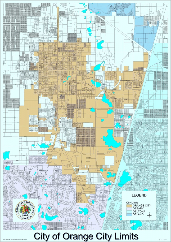 Planning Division And Maps – City Of Orange City - Florida Land Use Map