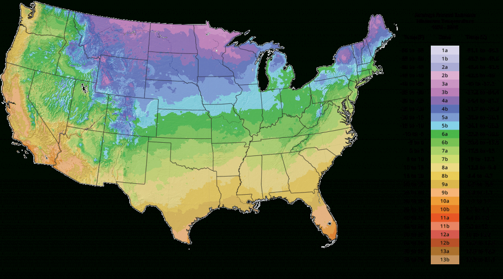 Plant Hardiness Zone Map - Tree Growing Zones | The Tree Center™ - Florida Growing Zones Map
