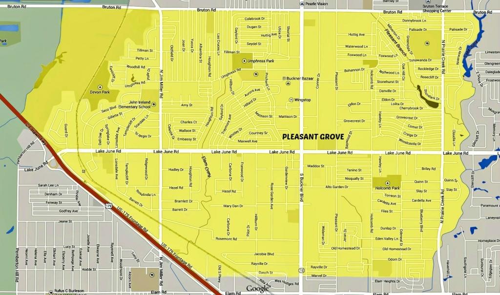 Pleasant Grove, Dallas - Wikipedia - Map Records Dallas County Texas