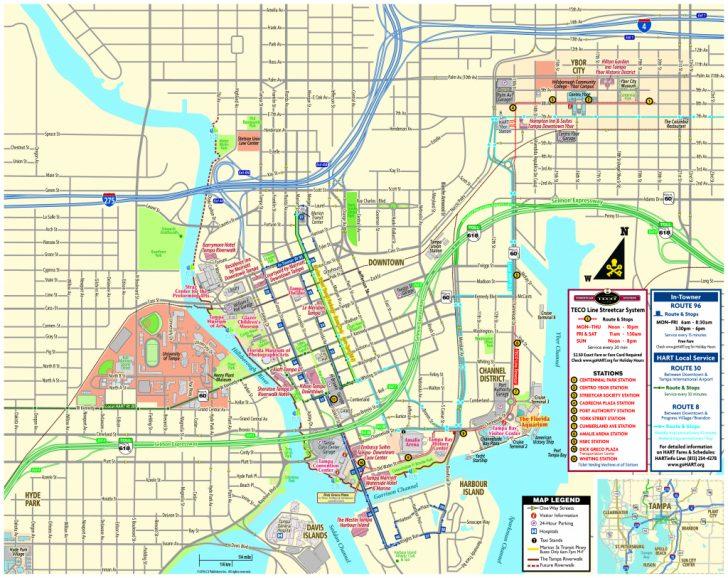 Cruise Terminal Tampa Florida Map