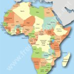 Political Map Of Africa Countries And Capitals I Road Maps Africa   Printable Map Of Africa With Countries And Capitals