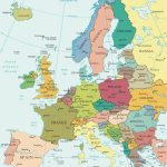 Political Map Of Europe   Countries   Printable Political Map Of Europe