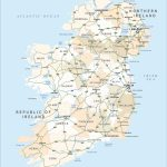Political Map Of Ireland   Royalty Free Editable Vector   Maproom   Printable Road Map Of Ireland