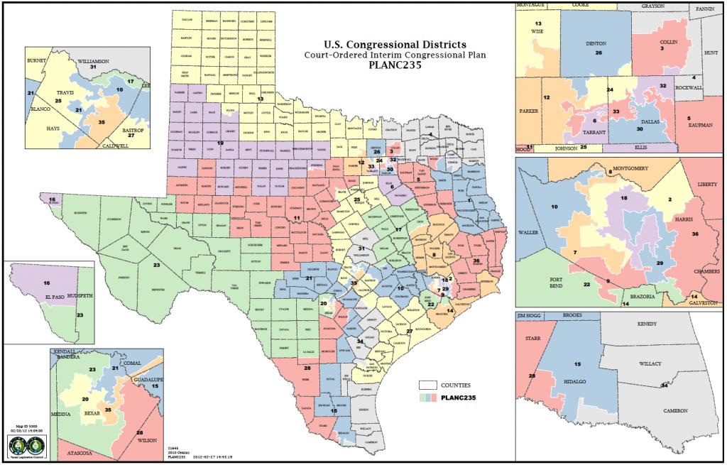 Political Participation: How Do We Choose Our Representatives - Texas State Senate District 19 Map