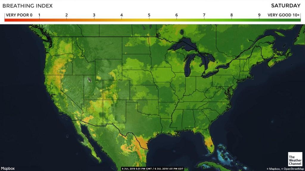 Pollen Count And Allergy Info For Waco, Tx - Pollen Forecast - Allergy Map Texas