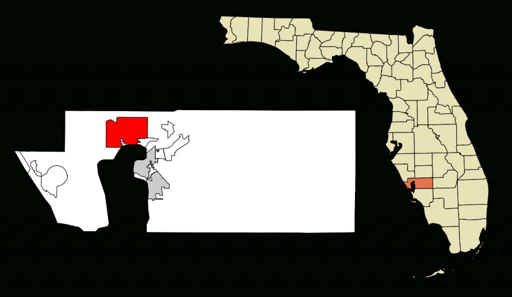 Port Charlotte, Florida - Wikipedia - Where Is North Port Florida On A Map
