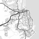 Port Macquarie Map Print Printable Port Macquarie Map Art | Etsy   Printable Street Map Of Port Macquarie