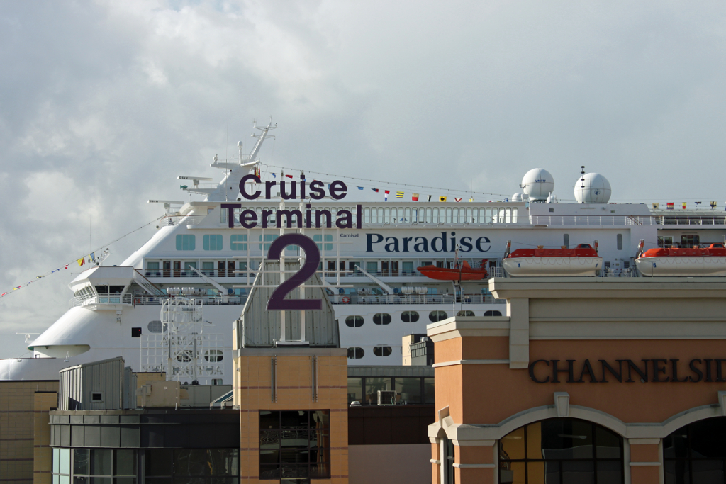Port Of Tampa, Florida - Cruise Terminal Tampa Florida Map