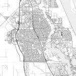 Port St. Lucie, Florida   Area Map   Light | Hebstreits Sketches   Map Of Florida With Port St Lucie