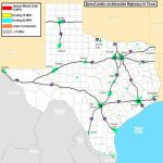 Portions Of Texas Interstate Highways To See Speed Limit Increase To   Texas Mile Marker Map I 20