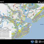 Potential Storm Surge Flooding Map   Florida Keys Flood Zone Map