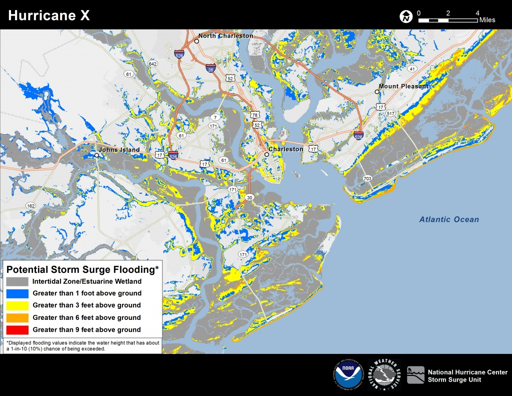 Potential Storm Surge Flooding Map - Naples Florida Flood Map