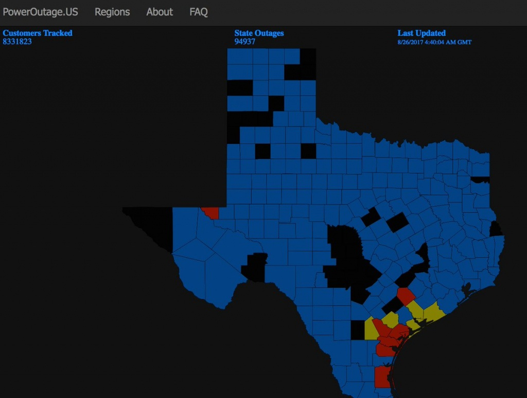 Power Outage Maps (@poweroutagemaps) | Twitter - Power Outage Map Texas