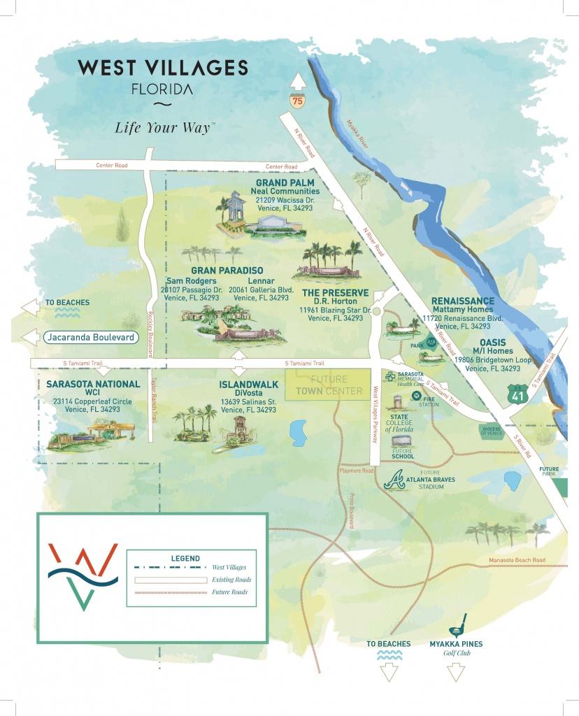 Press Releases - New Homes Sarasota, Home Builder Sarasota - North Port Florida Map