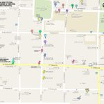 Print Map Of Downtown Springfield, Mo | 1 417 327 3911 | Aj Ellis   Printable Map Of Springfield Mo