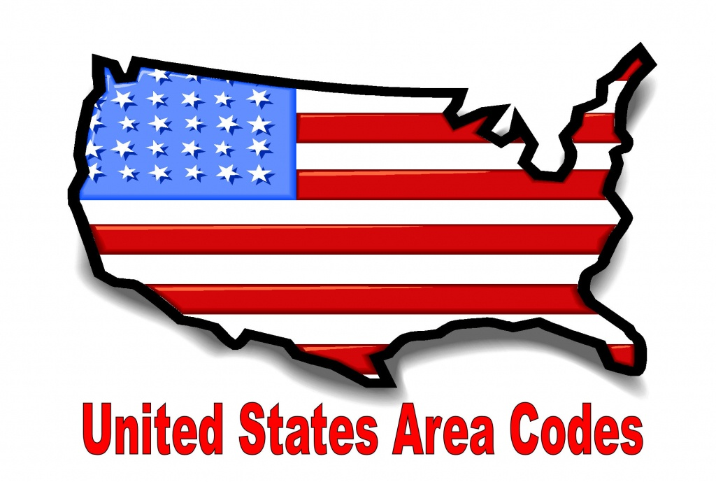 Printable Area Code Listnumber, State, Or Time Zone ...