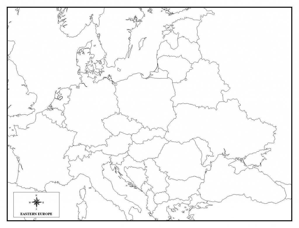 Printable Blank Africa Map Quiz Diagram And Europe 7 - World Wide Maps - Africa Map Quiz Printable