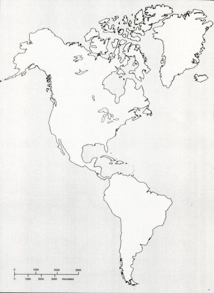 Printable Blank Map Of Western Hemisphere Diagram With X | Ap World - Western Hemisphere Map Printable