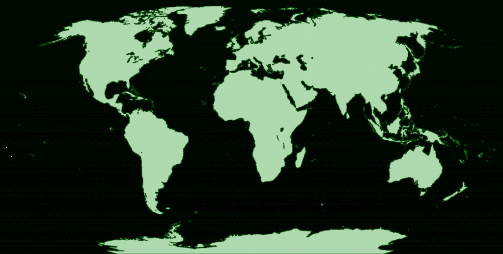 Printable Blank World Maps | Free World Maps - Free Large Printable World Map