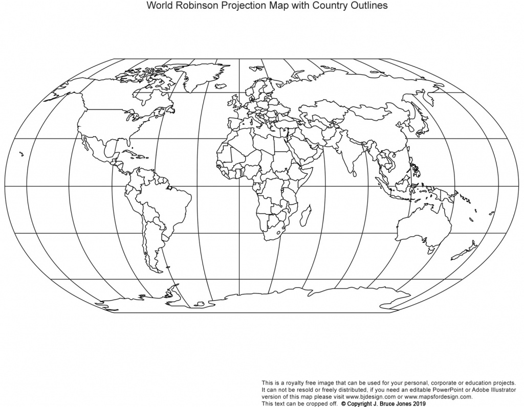 Printable, Blank World Outline Maps • Royalty Free • Globe, Earth - Free Printable World Map Outline