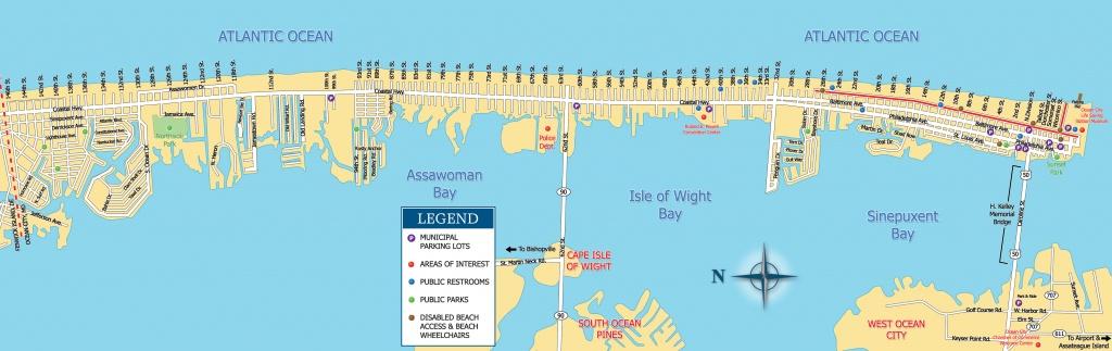 Printable Coupons   Ocean City Visitor Guide - Printable Map Of Ocean City Md Boardwalk
