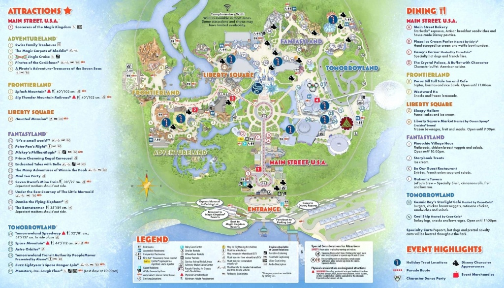 Printable Disney World Maps 2017 Awesome Google Map Orlando Copy - Disney World Map 2017 Printable