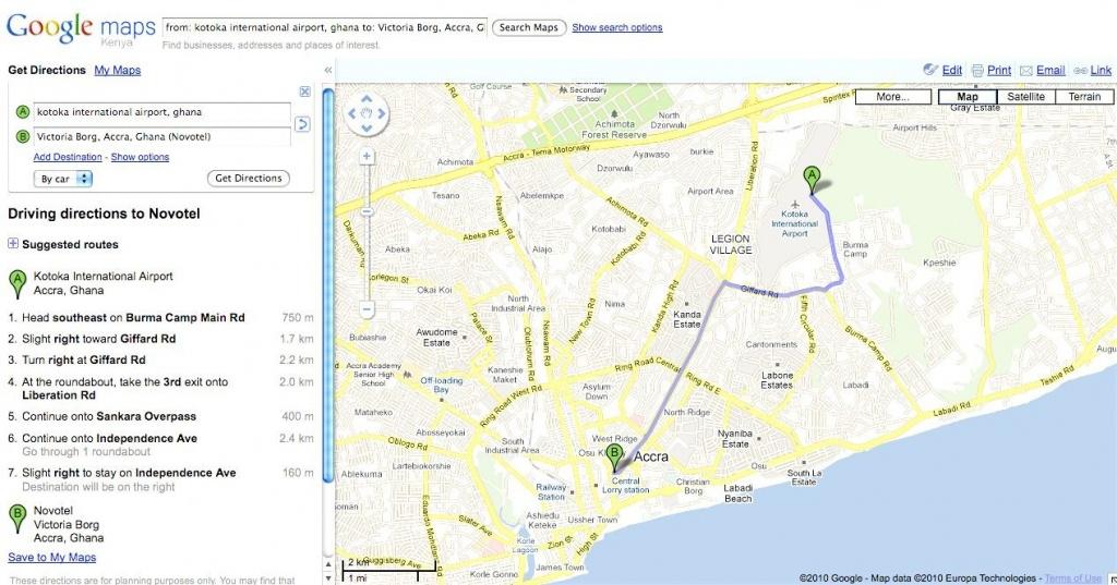 Printable Driving Maps - Hepsimaharet - Google Maps Florida Driving Directions