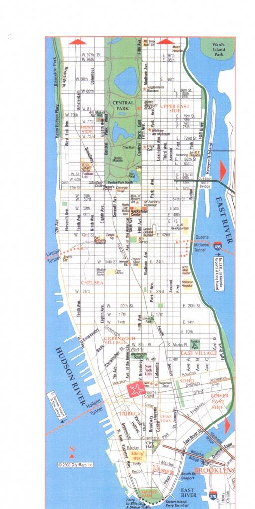 Printable Manhattan Street Map Download Printable Street Map New - Manhattan Road Map Printable