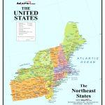 Printable Map Northeast Region Us America Pathwayto Me With Of North – Printable Map Of North Eastern United States