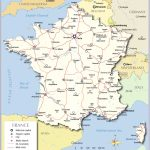 Printable Map Of France With Cities And Travel Information   Printable Map Of France With Cities And Towns