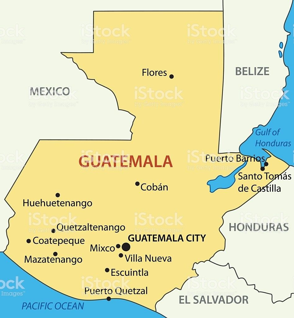 Printable Map Of Guatemala | D1Softball - Printable Map Of Guatemala