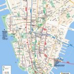 Printable Map Of Manhattan Ny | Travel Maps And Major Tourist   Free Printable Street Map Of Manhattan
