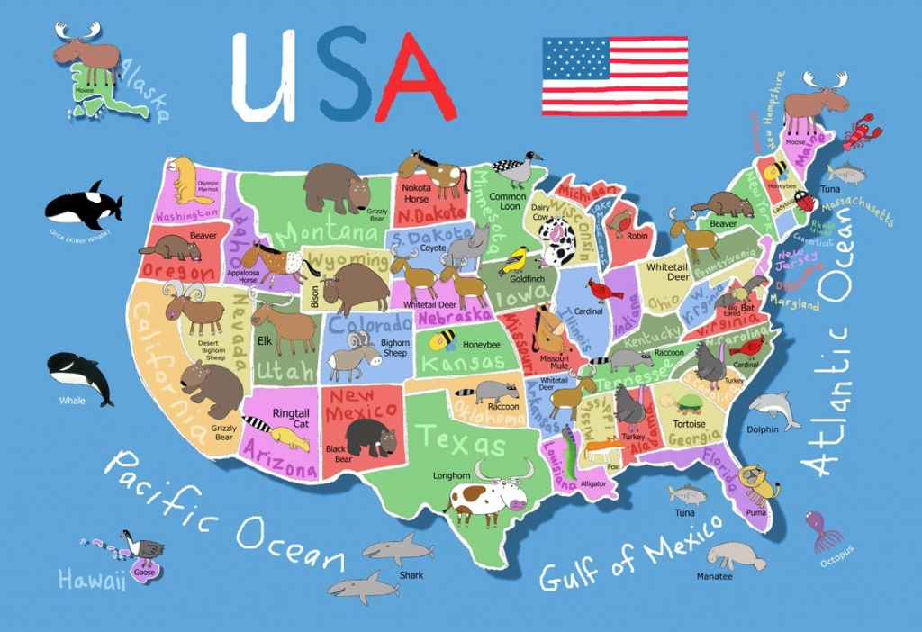 Printable Map Of Usa For Kids   Its's A Jungle In Here!: July 2012 - Printable Us Map For Kids