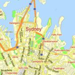 Printable Map Sydney, Australia, City Plan 2000 M Scale Adobe   Printable Street Map Of Port Macquarie