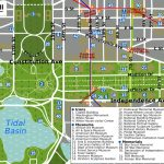 Printable Map Washington Dc | National Mall Map   Washington Dc   Printable Map Of Downtown Dc