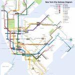 Printable New York City Map | New York City Subway Map Page Below   Nyc Subway Map Manhattan Only Printable