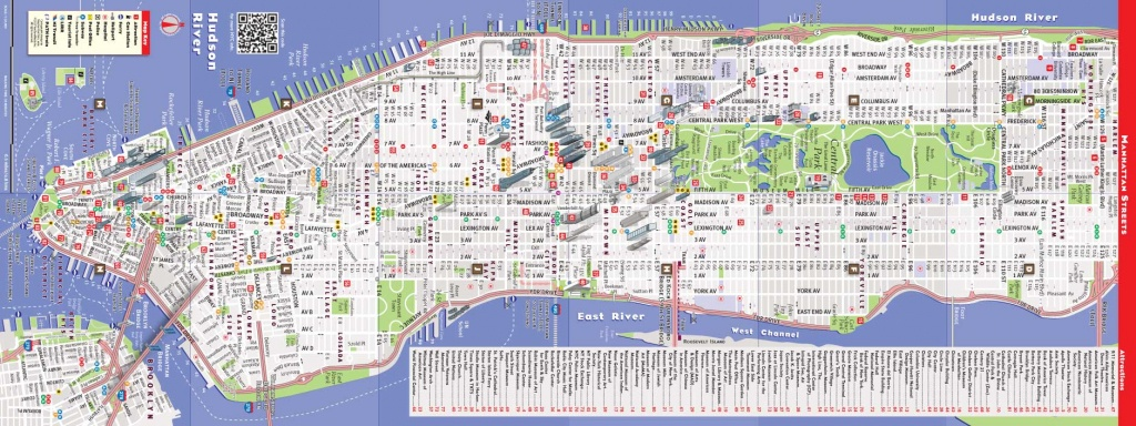 Printable New York Street Map Quick Updated Nyc Maps   Travel Maps - Printable New York Street Map