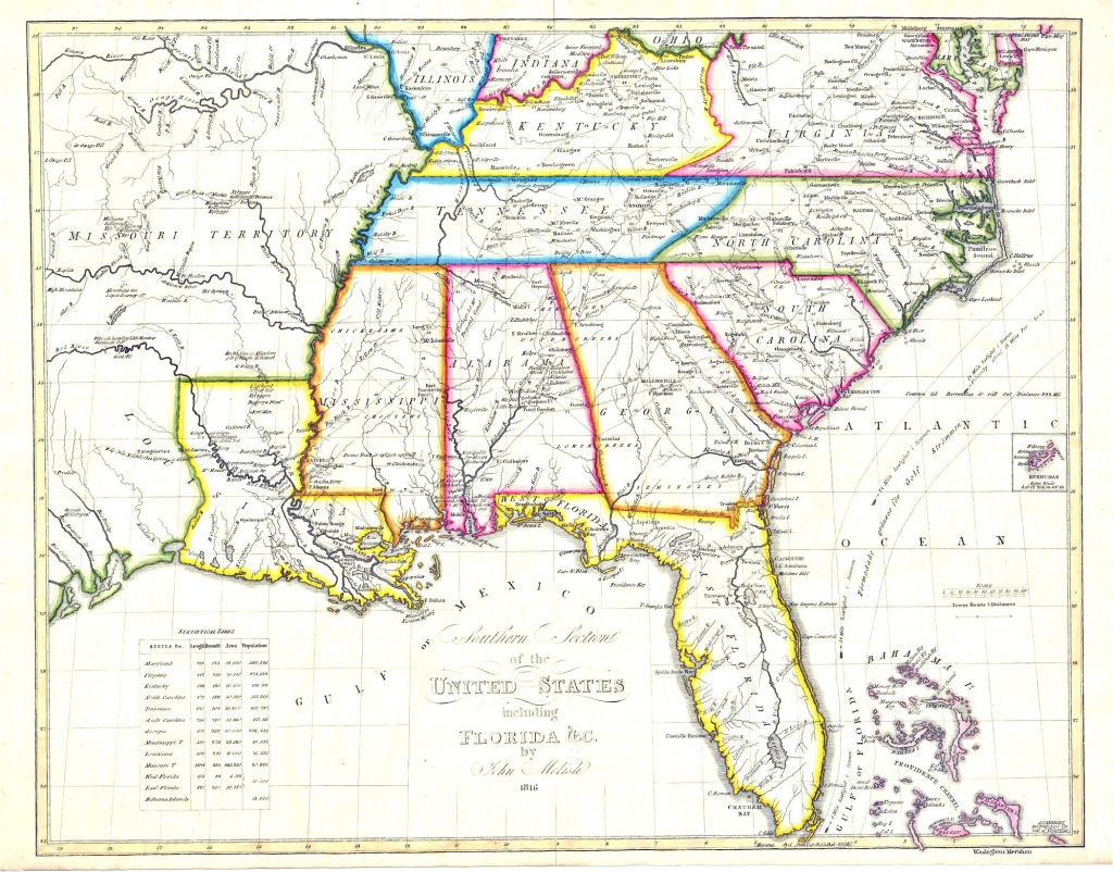 Printable Road Map Of Southeast United States | Printable Us Maps - Southeast States Map Printable