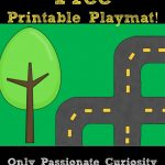 Printable Road Playmat And German Road Signs | Preschool | Community   Printable Road Maps For Kids