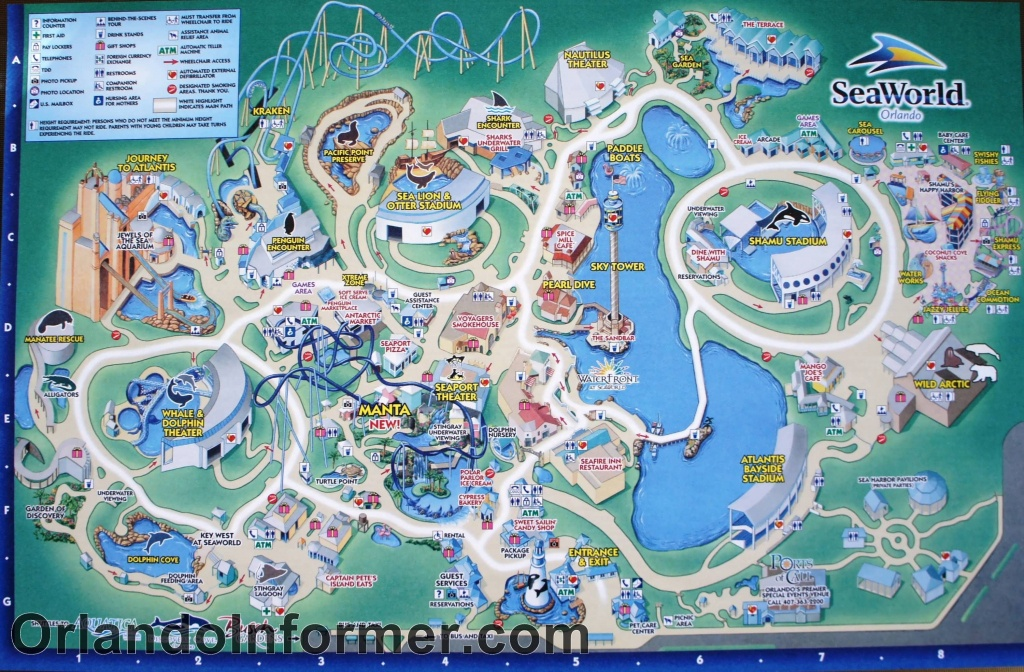 Printable Seaworld Map | Scenes From Seaworld Orlando 2011 - Photo - Seaworld Map Orlando Florida