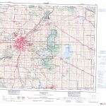 Printable Topographic Map Of Edmonton 083H, Ab   Printable Map Of Edmonton