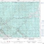 Printable Topographic Map Of Edson 083F, Ab   Printable Topographic Maps Free
