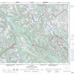 Printable Topographic Map Of Golden 082N, Ab   Printable Topographic Maps Free