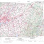 Printable Topographic Map Of Montreal 031H, Qc   Printable Topographic Map