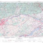 Printable Topographic Map Of Ottawa 031G, On   Printable Topographic Map