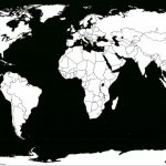 Printable White Transparent Political Blank World Map C3 | Free   Picture Of Map Of The World Printable
