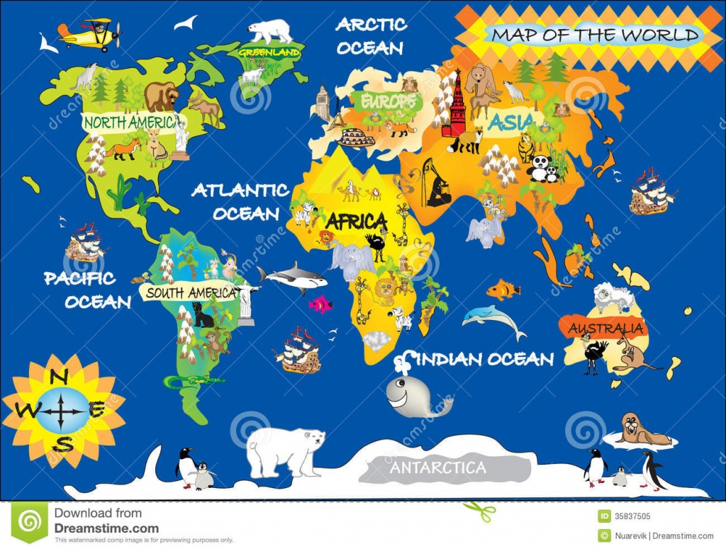 Printable World Map For Kids And Travel Information   Download Free - Kid Friendly World Map Printable