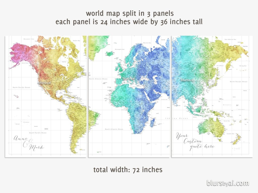 Printable World Map Poster   Sitedesignco - World Map Poster Printable